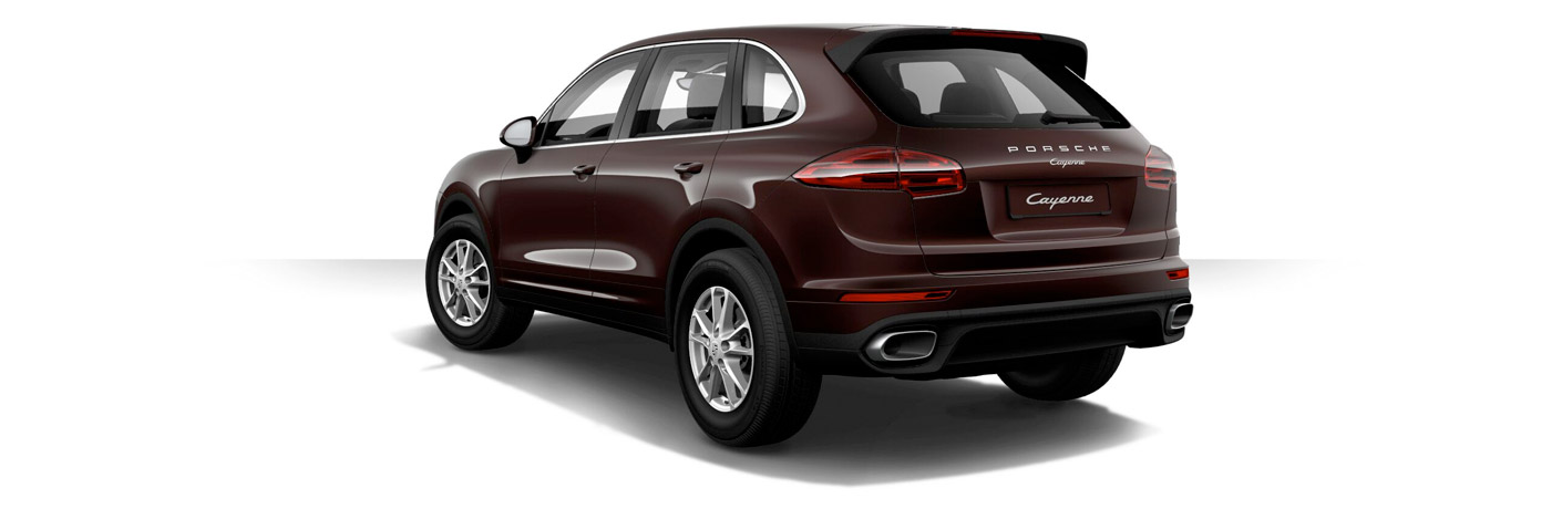 Which colors does the 2017 Porsche Cayenne come in?