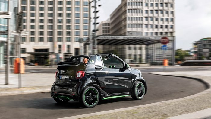 2017 smart fortwo electric ev
