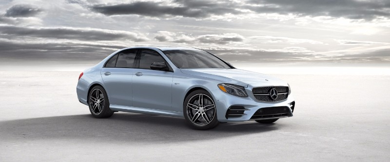 2018 Mercedes-Benz E-Class Diamond Silver Metallic
