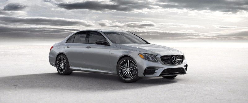 2018 Mercedes-Benz E-Class Iridium Silver Metallic