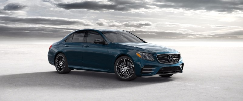 2018 Mercedes-Benz E-Class Piedmont Green Metallic
