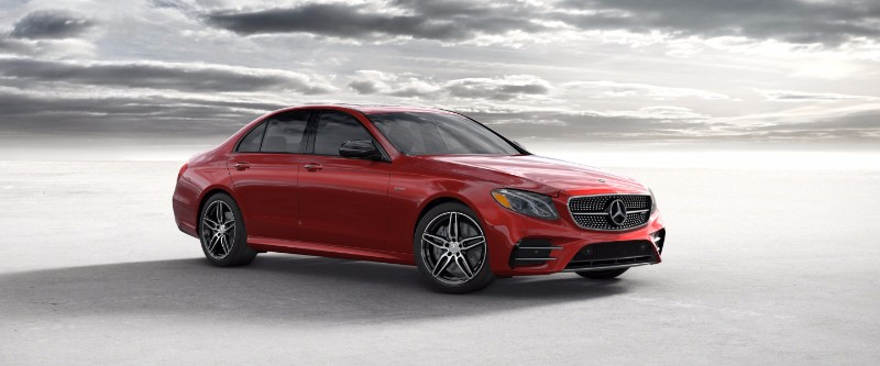 2018 Mercedes-Benz E-Class designo Cardinal Red Metallic