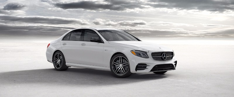 2018 Mercedes-Benz E-Class designo Diamond White Metallic