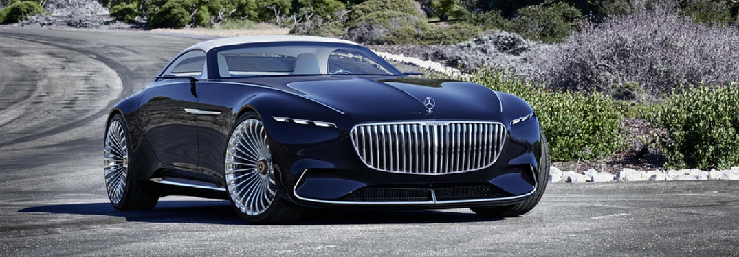 Mercedes-Benz shows off the new Vision Mercedes-Maybach 6 Cabriolet