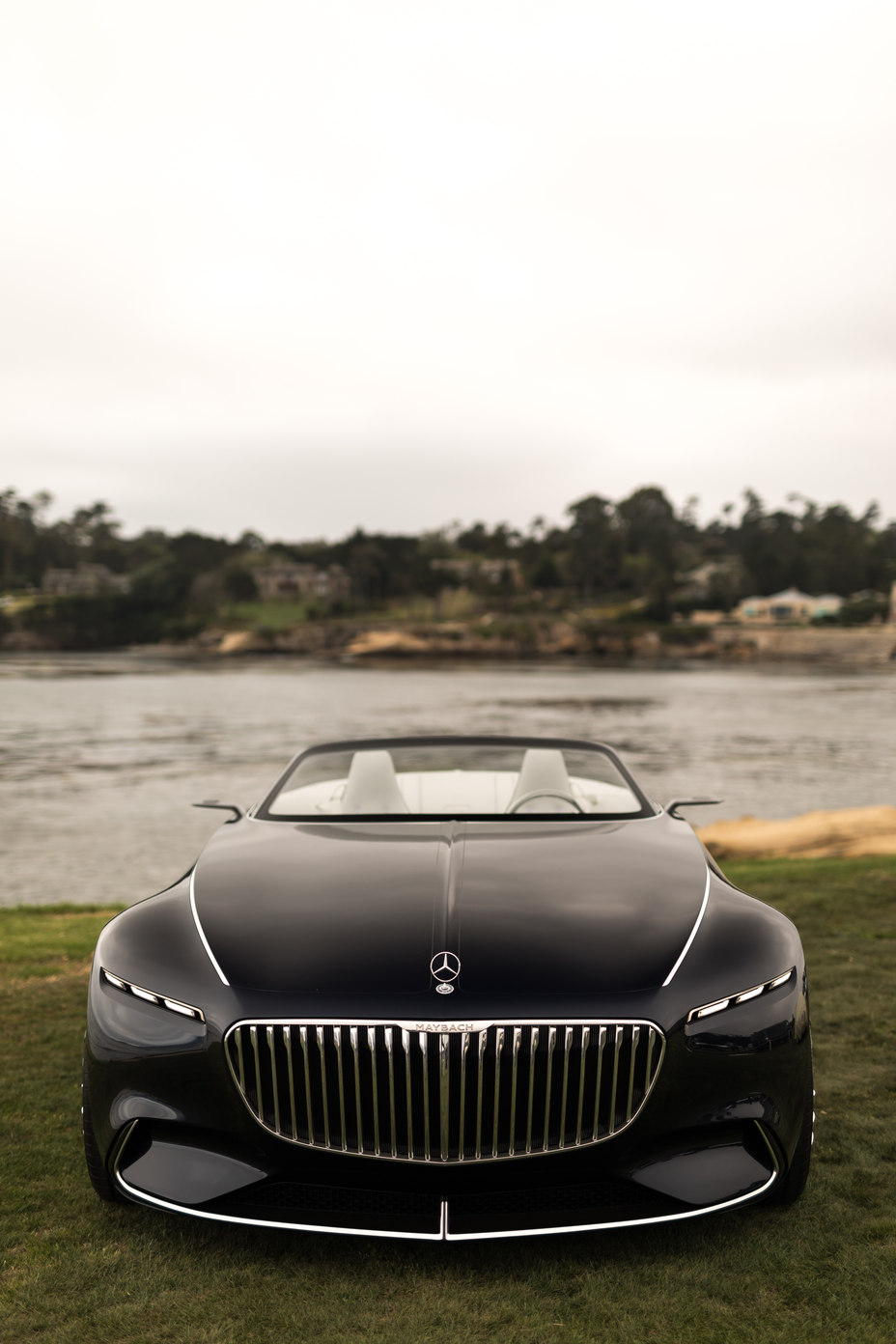 Vision Mercedes-Maybach 6 Cabriolet front fascia