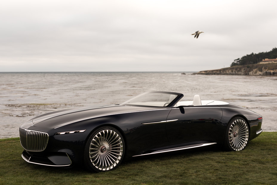 Vision Mercedes-Maybach 6 Cabriolet profile top down