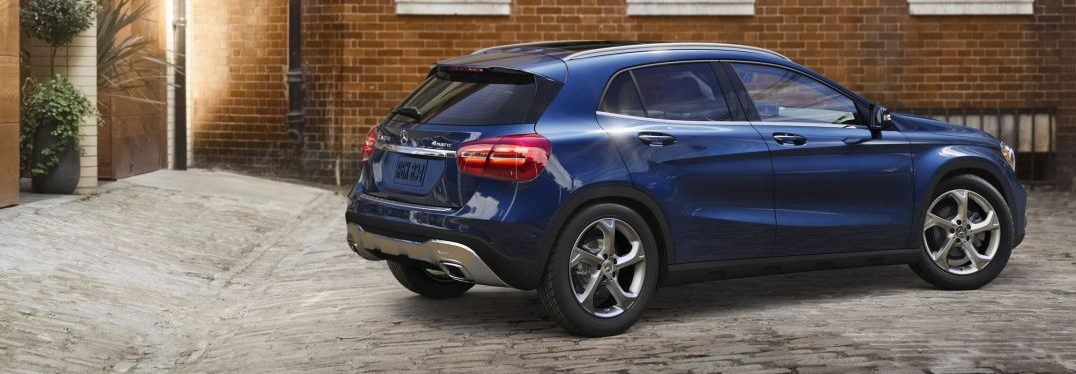 What Colors Does the 2018 Mercedes-Benz GLA Come in?
