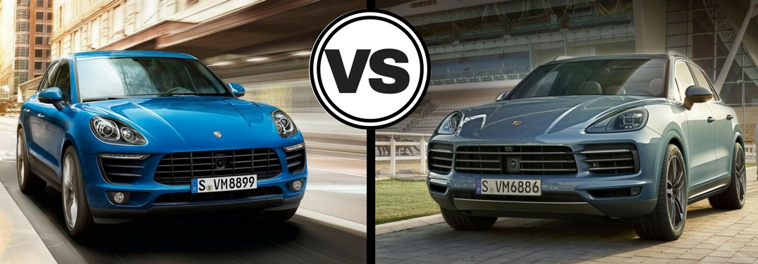 Which Porsche model offers more space: the Macan or the Cayenne?