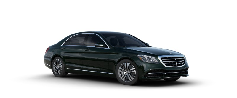 2018 Mercedes-Benz S-Class Sedan in Emerald Green Metallic