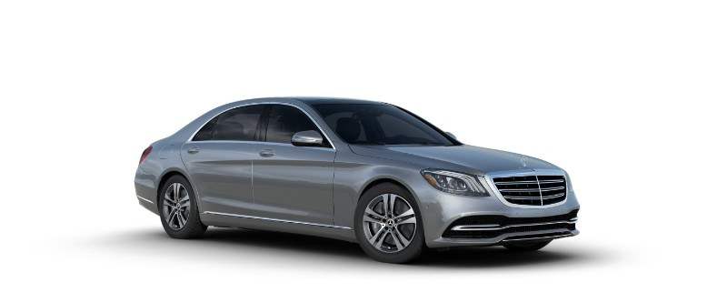 2018 Mercedes-Benz S-Class Sedan in Iridium Silver Metallic