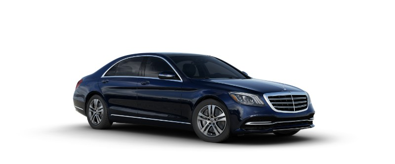 2018 Mercedes-Benz S-Class Sedan in Lunar Blue Metallic