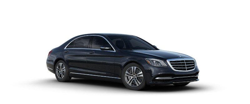 2018 Mercedes-Benz S-Class Sedan in Magnetite Black