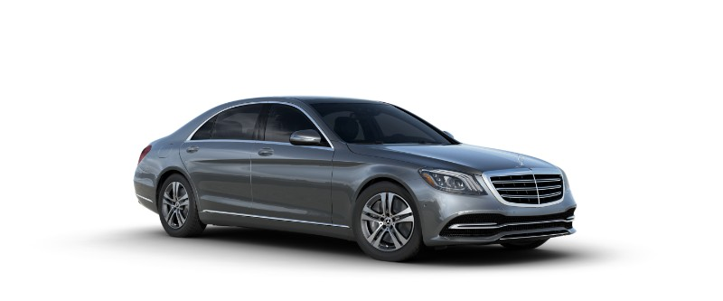 2018 Mercedes-Benz S-Class Sedan in Selenite Gray
