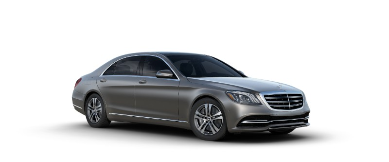 2018 Mercedes-Benz S-Class Sedan in designo alanite grey magno