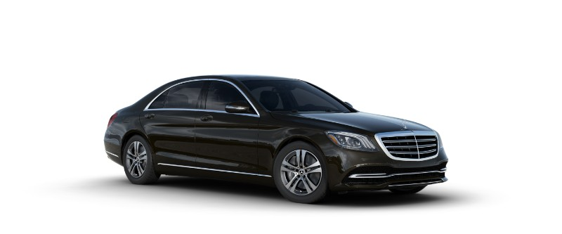 2018 Mercedes-Benz S-Class Sedan in designo mocha black metallic