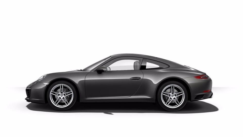 2018 Porsche 911 in Agate Grey Metallic