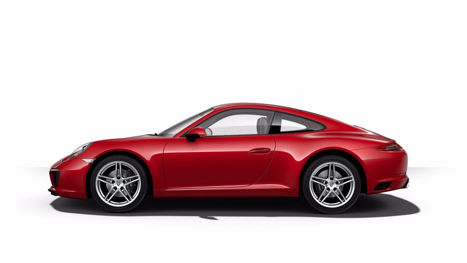 2018 Porsche 911 in Carmine Red