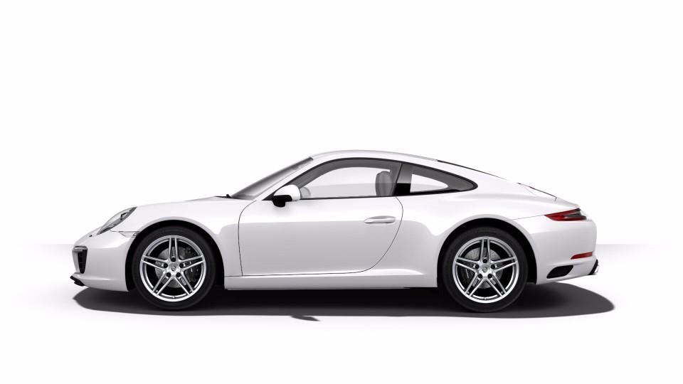 2018 Porsche 911 in White Metallic