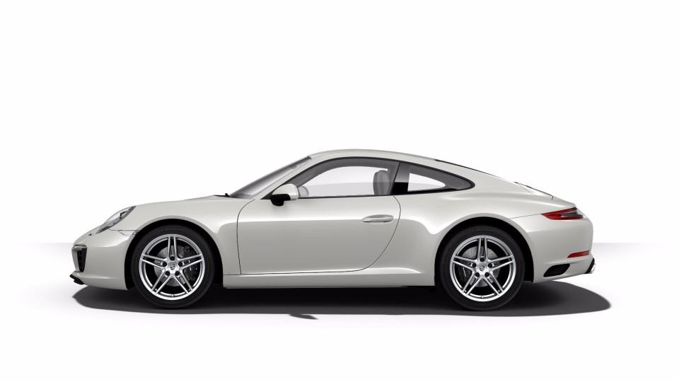 2018 Porsche 911 in Chalk