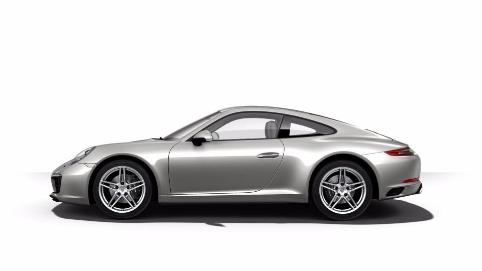 2018 Porsche 911 in Silver Metallic