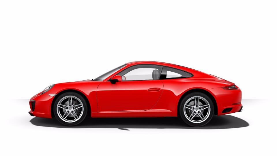 2018 Porsche 911 in Guards Red