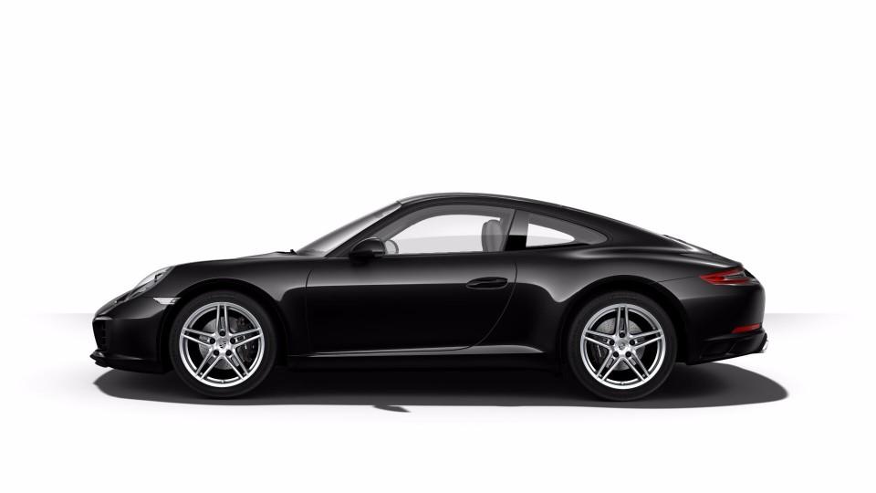 2018 Porsche 911 in Jet Black Metallic