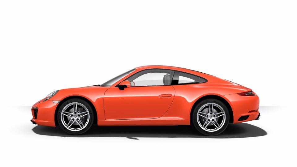 2018 Porsche 911 in Lava Orange