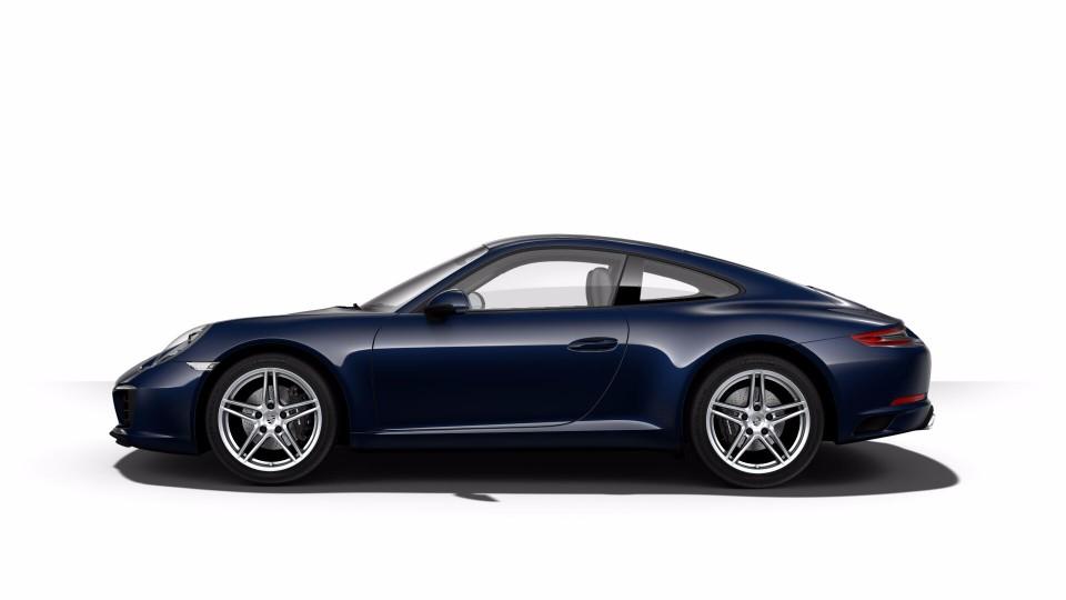 2018 Porsche 911 in Night Blue Metallic