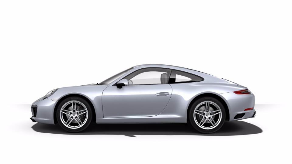 2018 Porsche 911 in Rhodium Silver Metallic