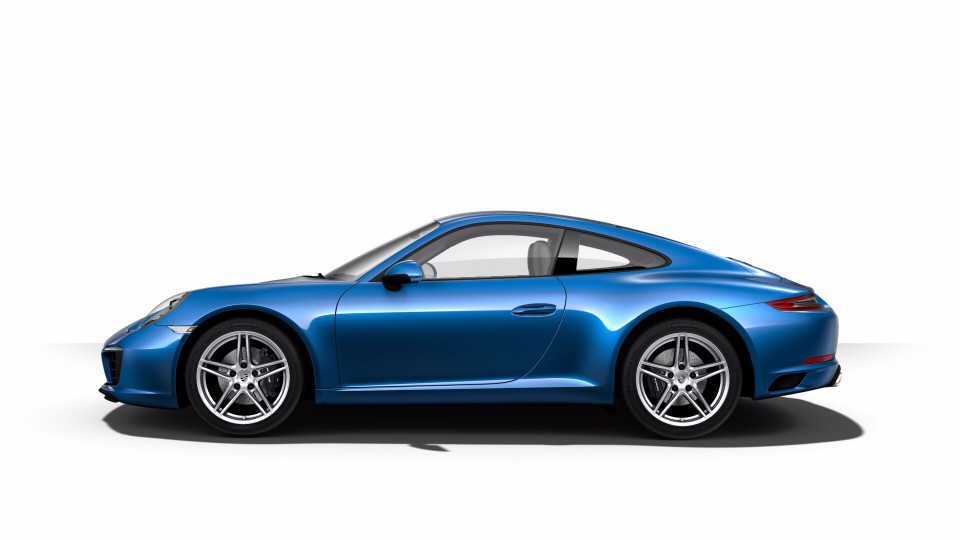 2018 Porsche 911 in Sapphire Blue Metallic