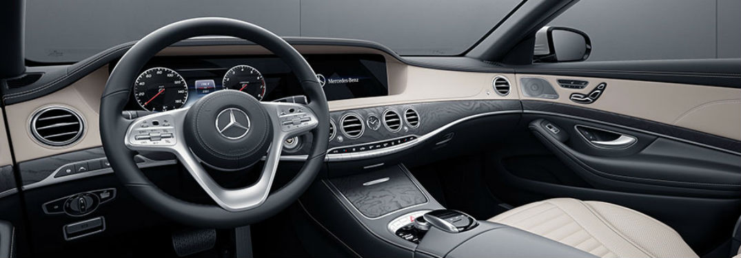 What are the Interior Features of the 2018 Mercedes-Benz S