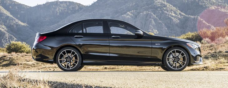 2018 mercedes-benz c 43 profile in the desert