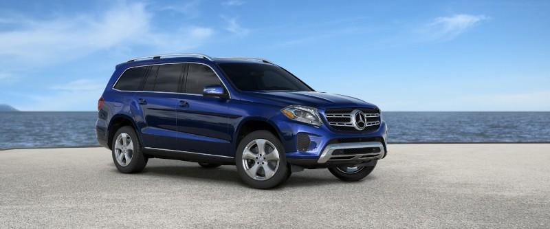 2018 Mercedes-Benz GLS in Brilliant Blue Metallic