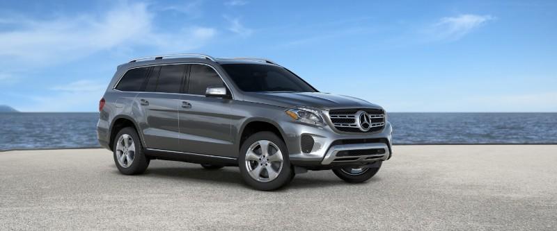 2018 Mercedes-Benz GLS in Selenite Gray Metallic