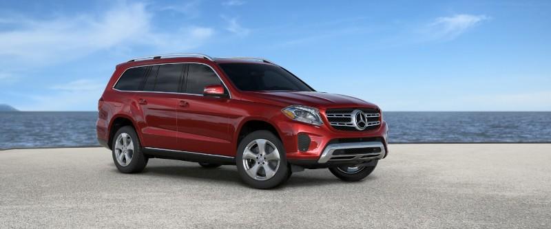 2018 Mercedes-Benz GLS in designo Cardinal Red Metallic