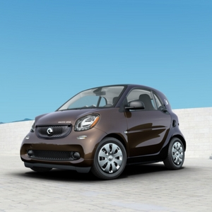 2018 smart fortwo electric drive pure Autumn Brown Metallic