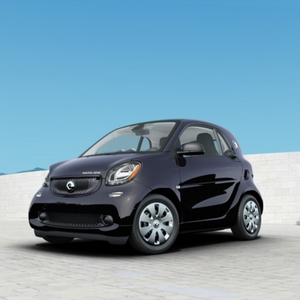 2018 smart fortwo electric drive pure Black