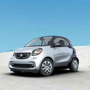 2018 smart fortwo electric drive pure Cool Silver Metallic