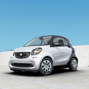 2018 smart fortwo electric drive pure White