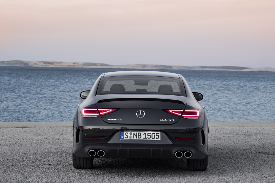 2019 Mercedes-Benz CLS rear view
