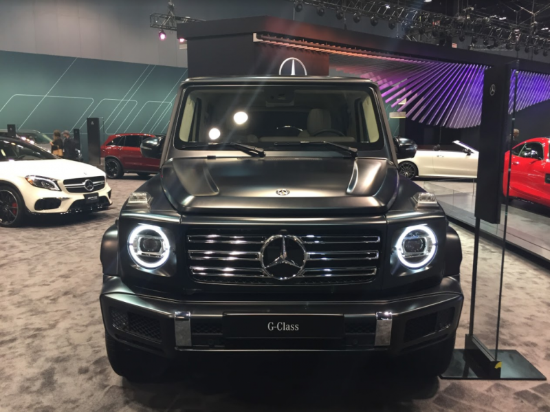 2019 mercedes benz g class at the chicago auto show photo gallery. Black Bedroom Furniture Sets. Home Design Ideas