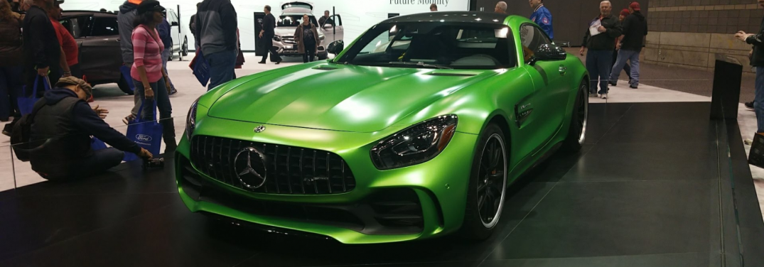 Mercedes-Benz shows off the 2018 Mercedes-AMG GT R