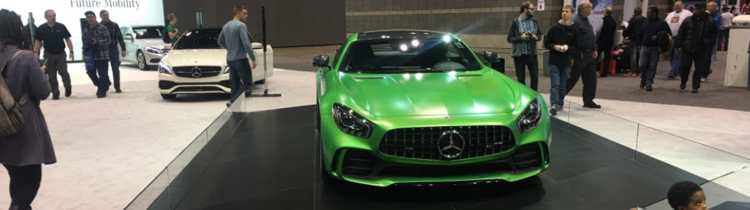 MercedesBenz AMG GT R At The Chicago Auto Show - Mercedes car show 2018
