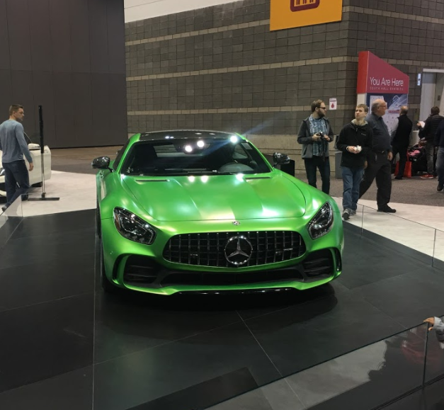 front fascia of the 2018 Mercedes-AMG GT R