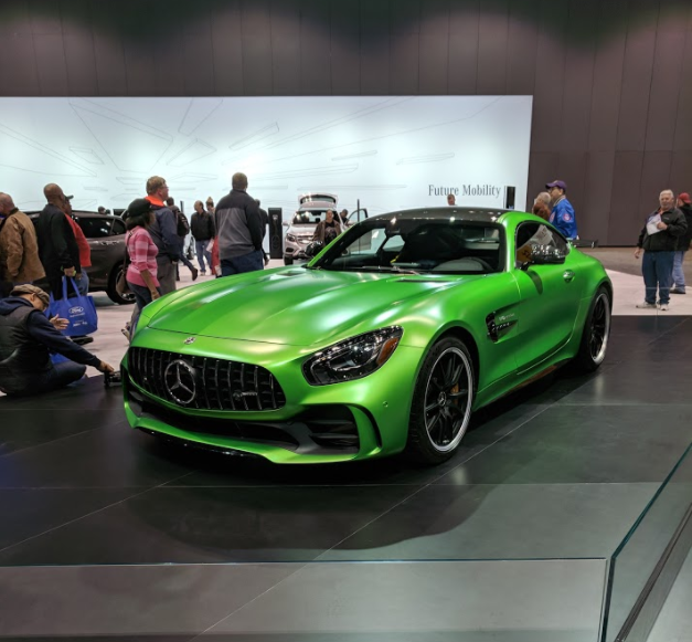 full view of the 2018 Mercedes-AMG GT R