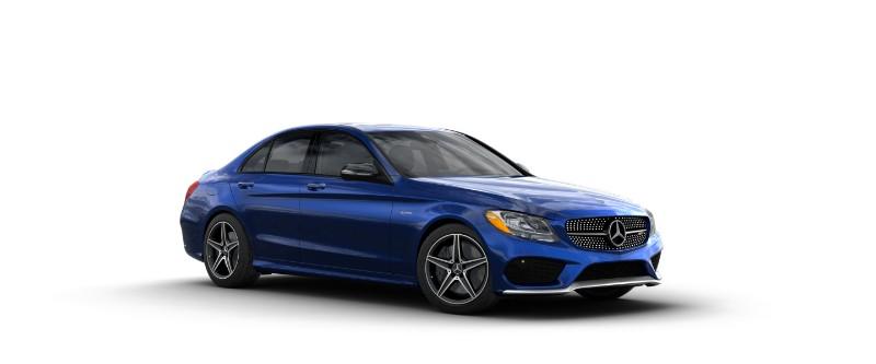 2018 Mercedes-AMG C 43 in Brilliant Blue Metallic