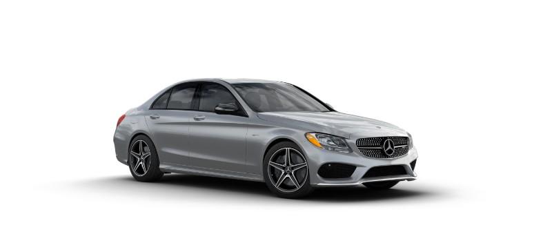 2018 Mercedes-AMG C 43 in Iridium Silver Metallic