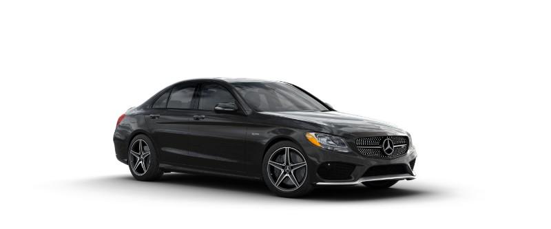 2018 Mercedes-AMG C 43 in Obsidian Black Metallic