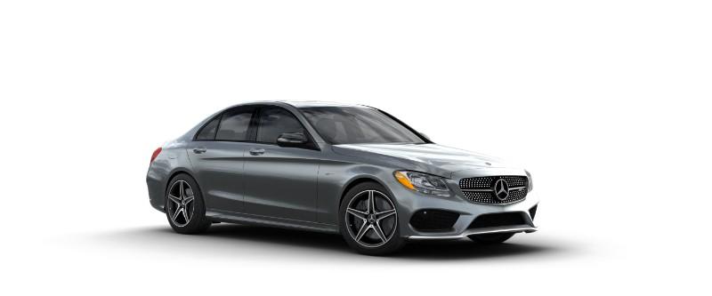 2018 Mercedes-AMG C 43 in Selenite Grey Metallic