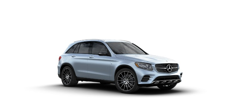 2018 Mercedes-AMG GLC 43 in Diamond Silver Metallic